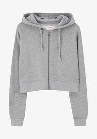 PULL&BEAR - MIT KAPUZE UND REISSVERSCHLUSS - veste en sweat zippée - dark grey - 6