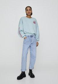 PULL&BEAR - Sweatshirt - light blue - 1