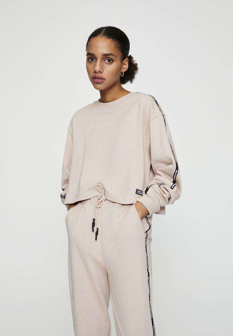PULL&BEAR - Sweatshirt - mottled rose