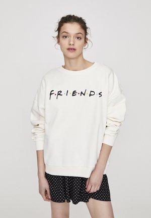 FRIENDS - Sweatshirt - white
