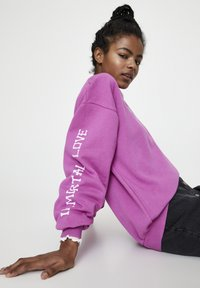 PULL&BEAR - Sweatshirt - rose - 3