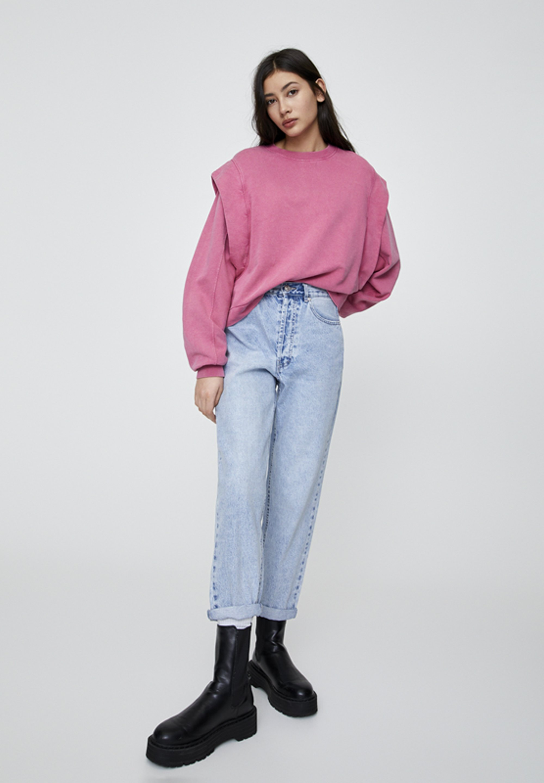Pull&bear Sweatshirt - Rose