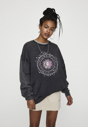 MIT SONNENMOTIV - Sweater - dark grey
