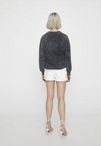 PULL&BEAR - Sweater - mottled dark grey - 2