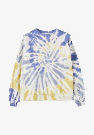 MIT WEITER SCHULTERPARTIE - Sweatshirt - multi-coloured