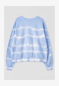 PULL&BEAR - MIT SONNE - Sweatshirt - light blue - 1