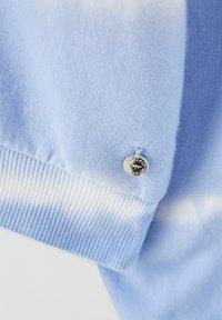 PULL&BEAR - MIT SONNE - Sweatshirt - light blue - 3
