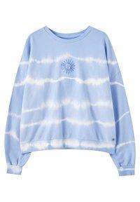 PULL&BEAR - MIT SONNE - Sweatshirt - light blue - 0