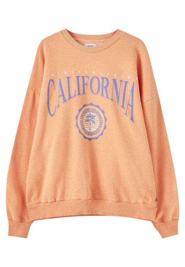 UNIVERSITY OF CALIFORNIA - Sweatshirts - orange