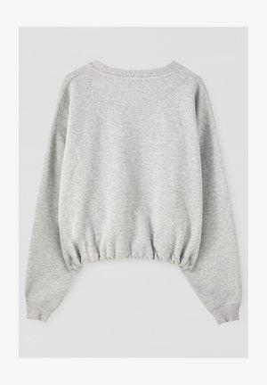 Sweatshirt - grey denim