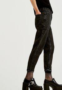 PULL&BEAR - Slim fit jeans - dark grey - 3