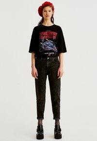 PULL&BEAR - Slim fit jeans - dark grey - 1