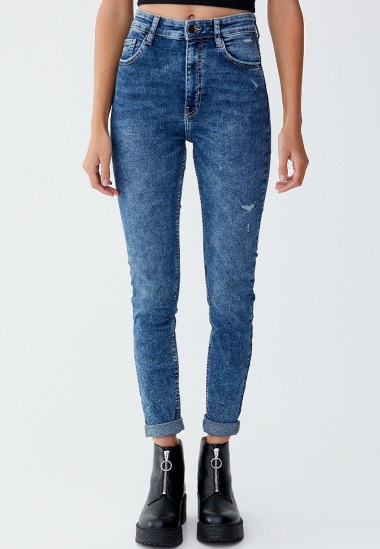 PULL&BEAR - Jeans Skinny Fit - blue