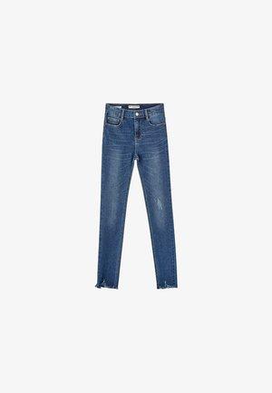 Jeansy Skinny Fit - dark blue