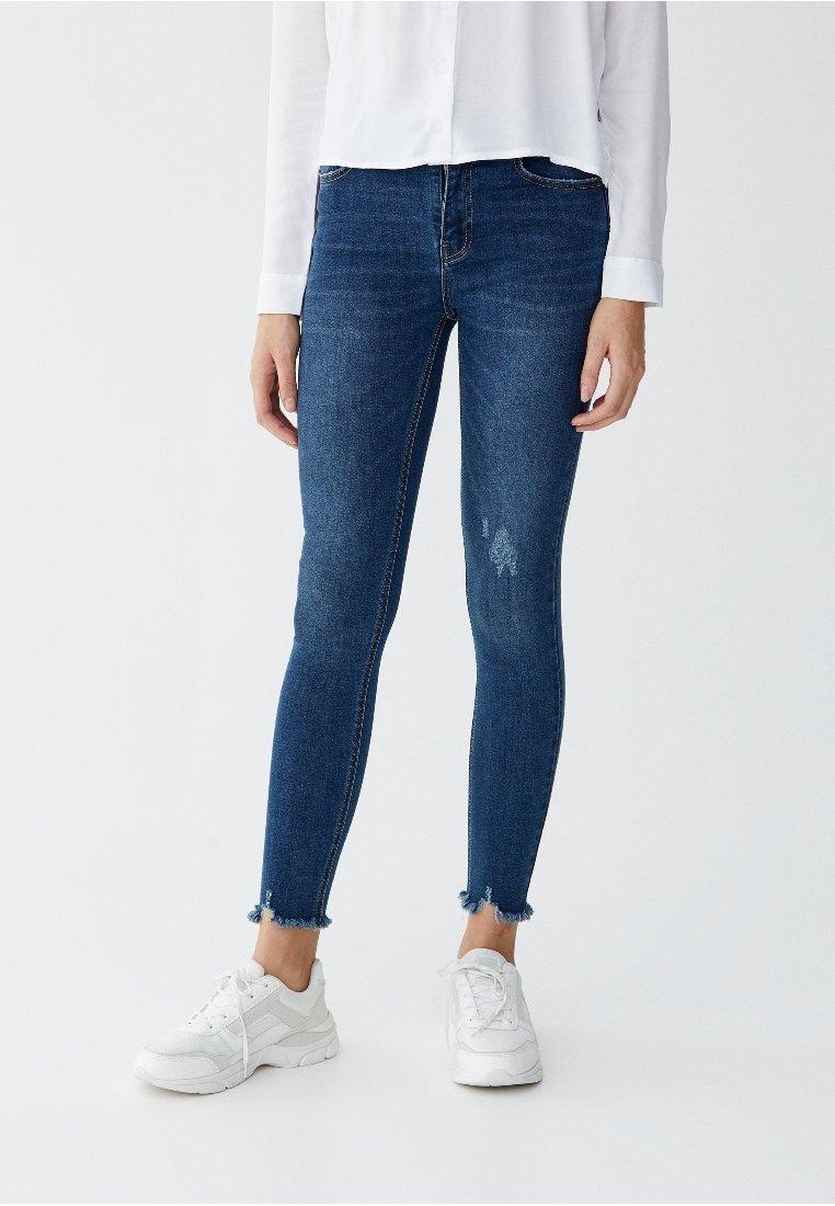 PULL&BEAR - Jeans Skinny - dark blue
