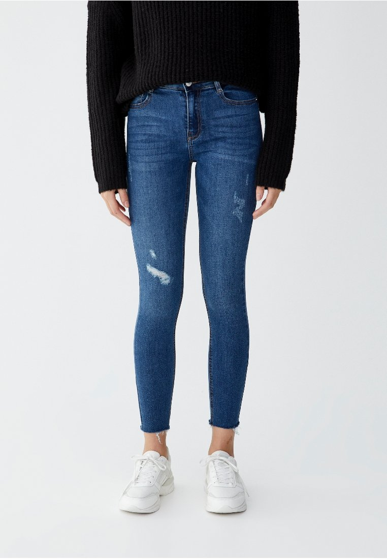 PULL&BEAR - Jeans Skinny Fit - blue