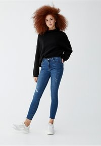 PULL&BEAR - Jeansy Skinny Fit - blue - 1