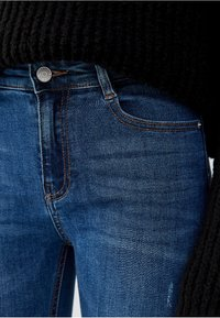 PULL&BEAR - Jeansy Skinny Fit - blue - 4