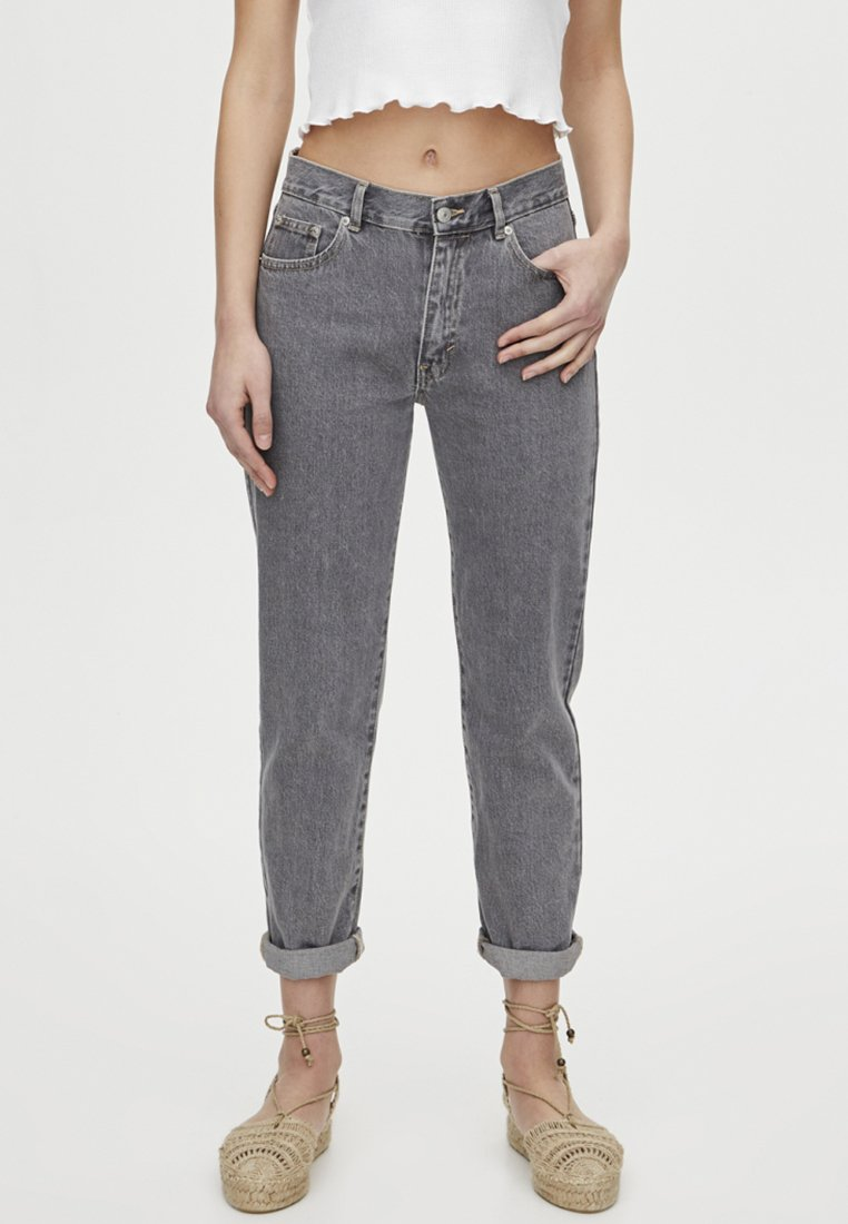 PULL&BEAR - Jeans Slim Fit - dark grey