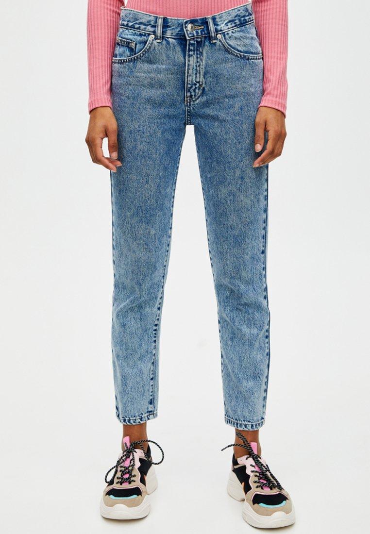 PULL&BEAR - Jeans slim fit - dark blue denim