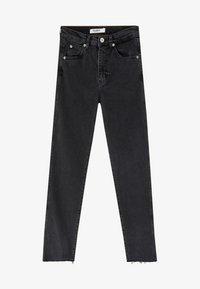 PULL&BEAR - MIT HOHEM BUND - Slim fit jeans - black - 4