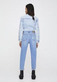 PULL&BEAR - MAMA - Jeans a sigaretta - light blue - 2