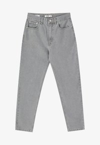 PULL&BEAR - MOM FIT - Straight leg jeans - grey - 5