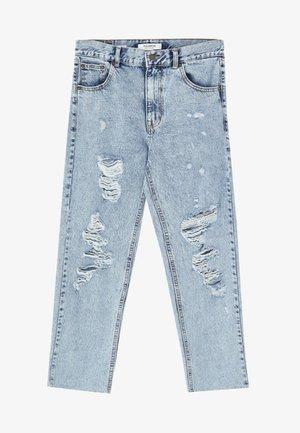 MOM FIT - Jeans Slim Fit - light blue