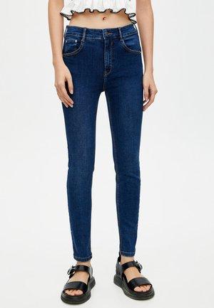 MIT PUSH UPS  - Jeans Skinny Fit - dark blue