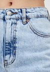 PULL&BEAR - MIT ACID-WASH - Straight leg jeans - light-blue denim