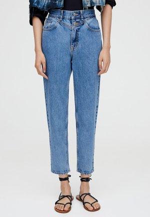 MOM - Jean slim - light blue