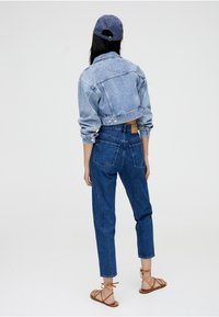 PULL&BEAR - MOM - Slim fit jeans - blue - 2