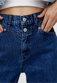 PULL&BEAR - MOM - Slim fit jeans - blue - 3