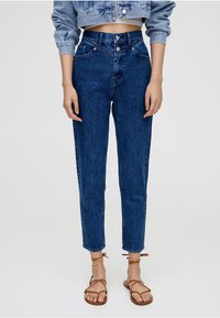 PULL&BEAR - MOM - Slim fit jeans - blue - 0