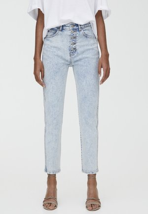 MOM - Slim fit jeans - light blue