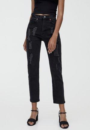 MOM - Slim fit jeans - black