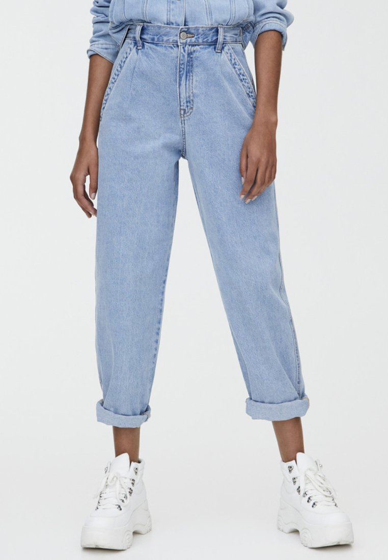 PULL&BEAR - SLOUCH - Jeans Relaxed Fit - light blue