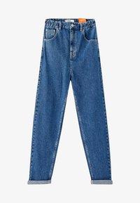 PULL&BEAR - MOM FIT - Straight leg jeans - blue - 5
