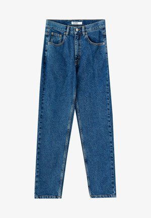 MOM FIT - Slim fit jeans - dark blue