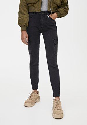 CARGO - Jeans Skinny - black