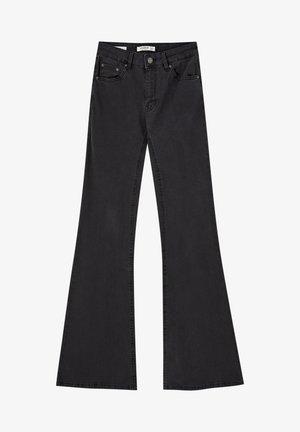 Jean flare - black
