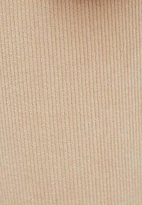 PULL&BEAR - Kangashousut - beige - 5
