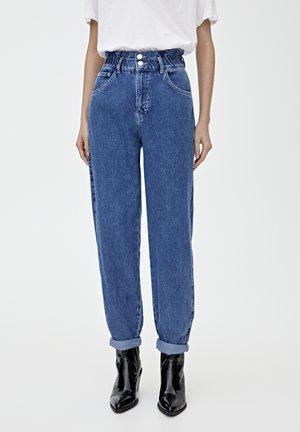 MIT STRETCHBUND - Straight leg jeans - blue