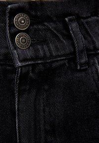 PULL&BEAR - MIT STRETCHBUND - Jeansy Straight Leg - black - 5