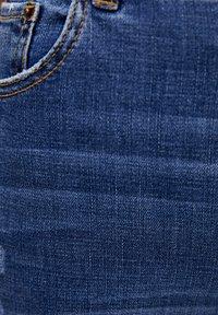 PULL&BEAR - BASIC-JEANS IM SKINNY-FIT MIT HOHEM BUND 09684315 - Jeans Skinny Fit - dark blue - 4