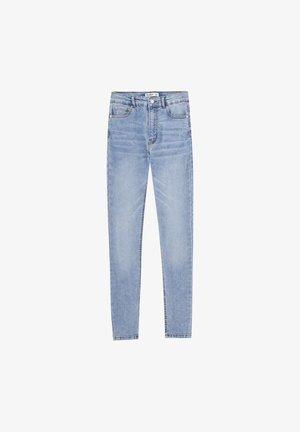 BASIC-JEANS IM SKINNY-FIT MIT HOHEM BUND 09684315 - Jeans Skinny Fit - light blue
