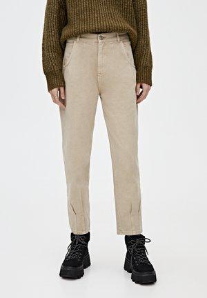 Jean boyfriend - light brown