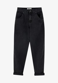PULL&BEAR - Džíny Straight Fit - black - 6