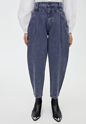 MIT PASSE - Jeansy Relaxed Fit - blue