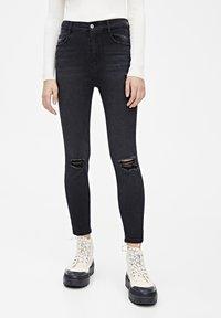 PULL&BEAR - Jeans Skinny - black - 0